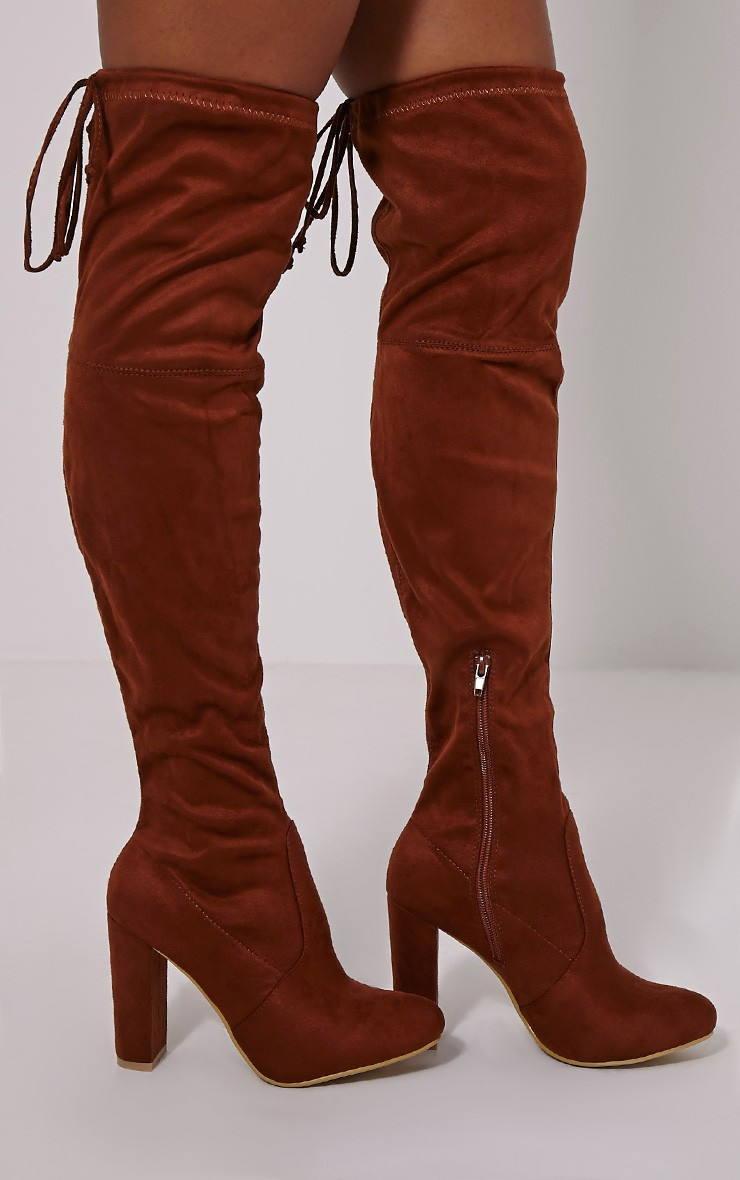 Tan Over The Knee Boots 5jxTw31i