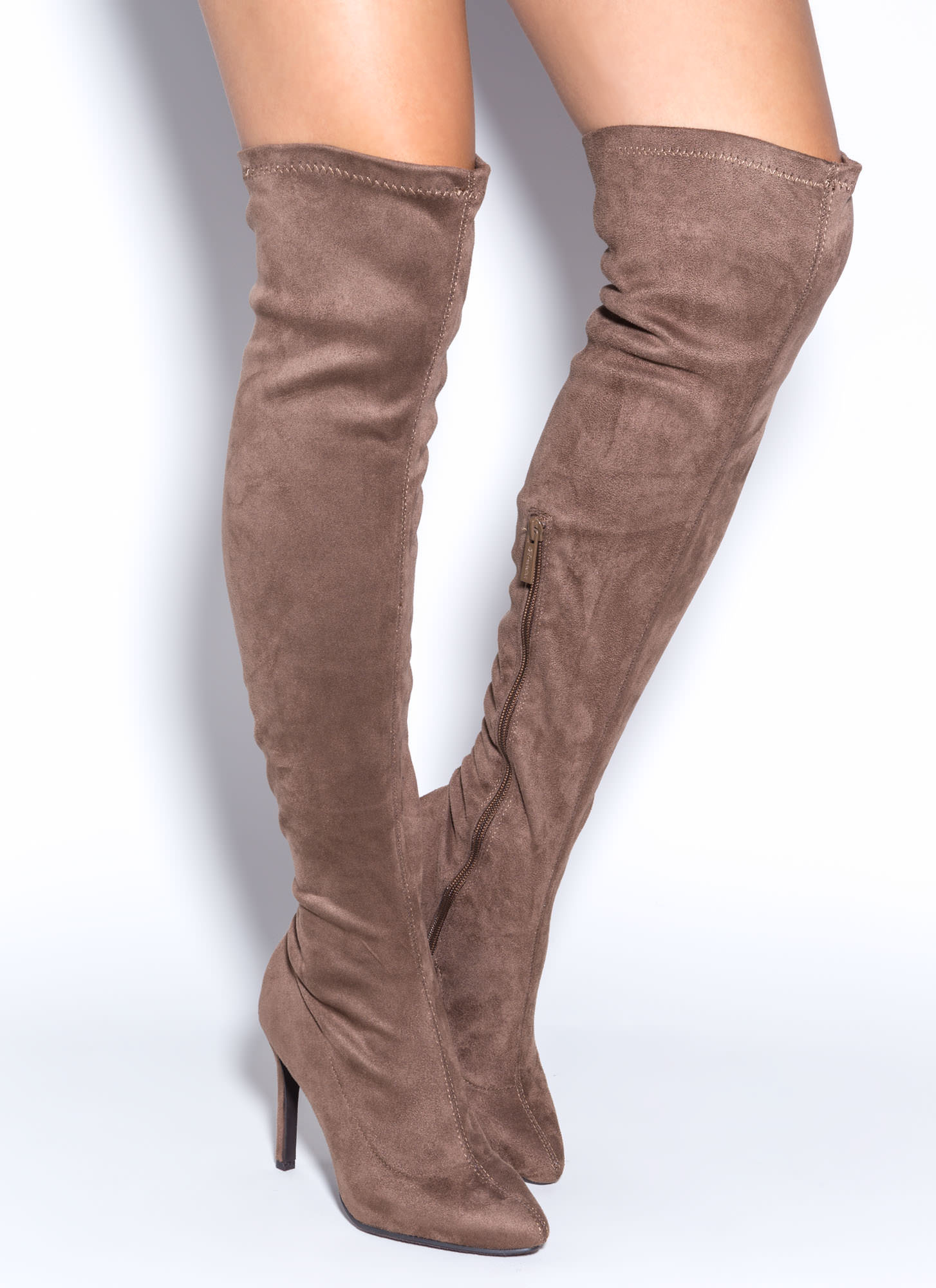 Tan Over The Knee Boots ftYWzxXg