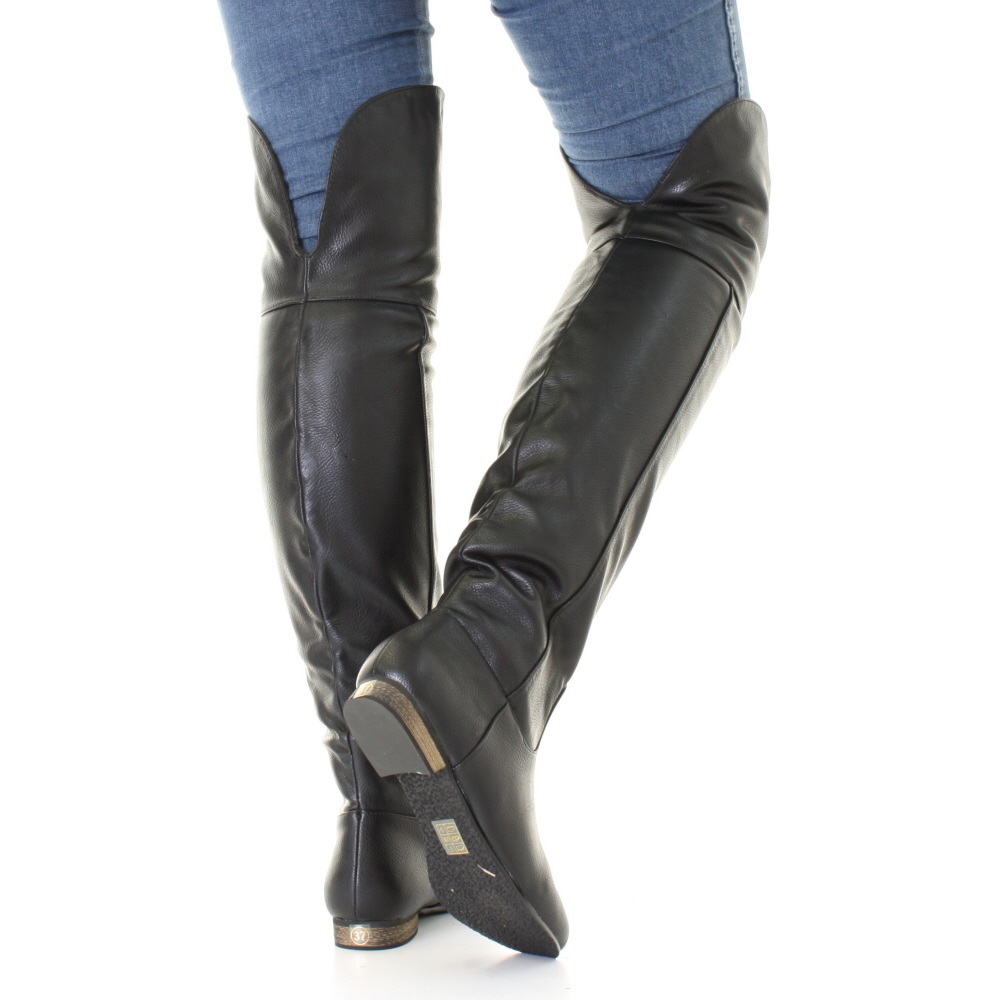 Thigh High Boots Flat tswTv7eG