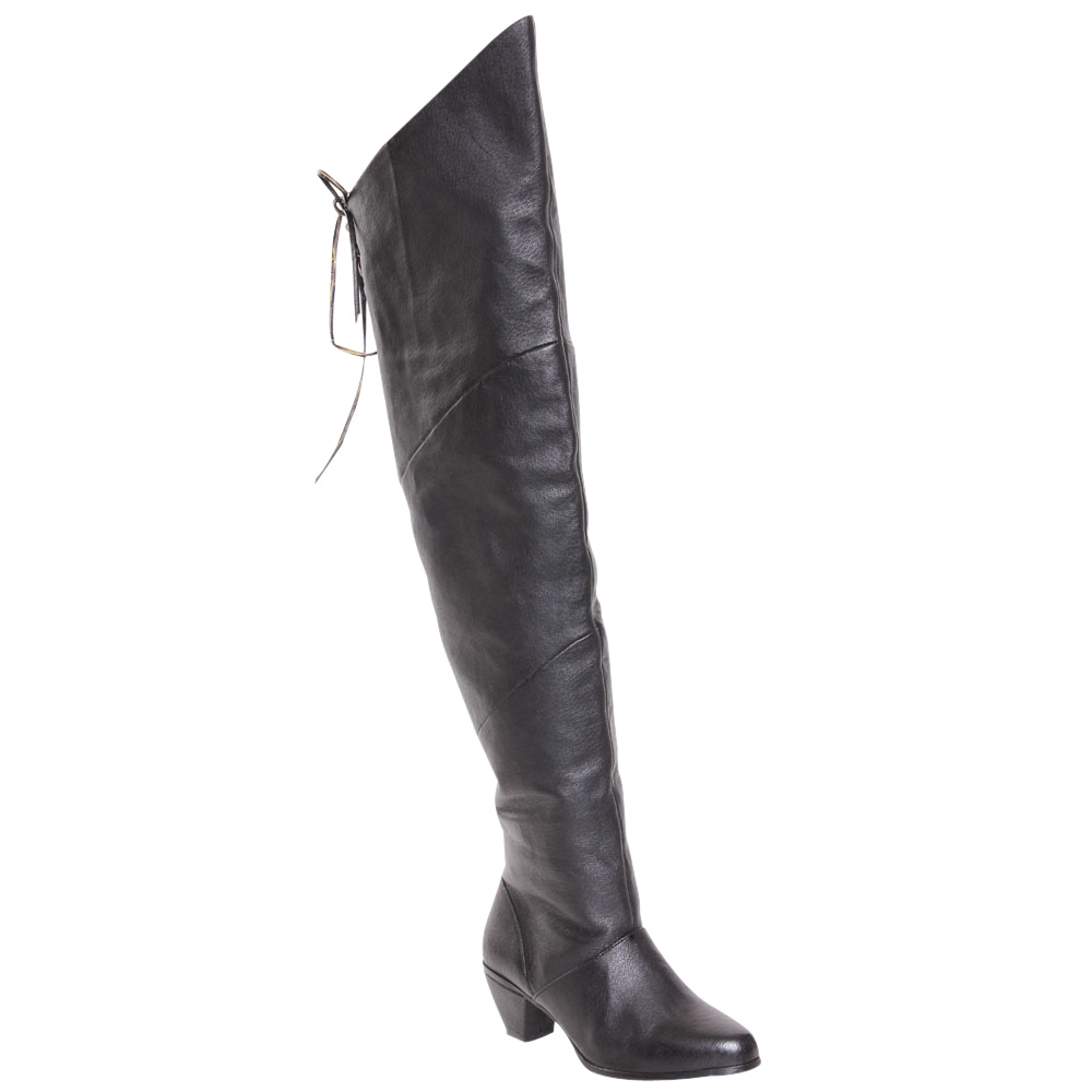 thigh high boots no heel boot yc