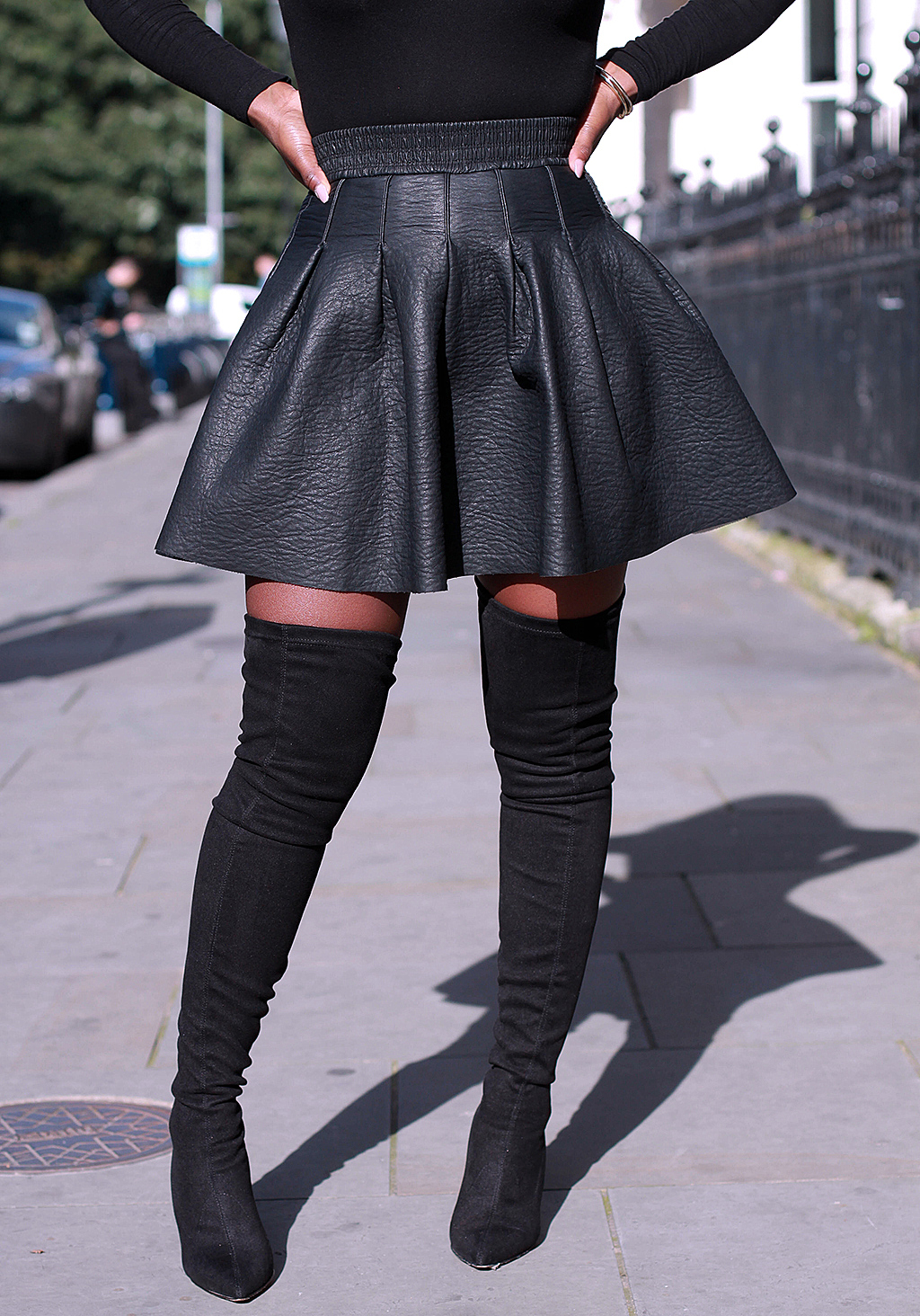Thigh High Boots Size 12 OhHsEa2D