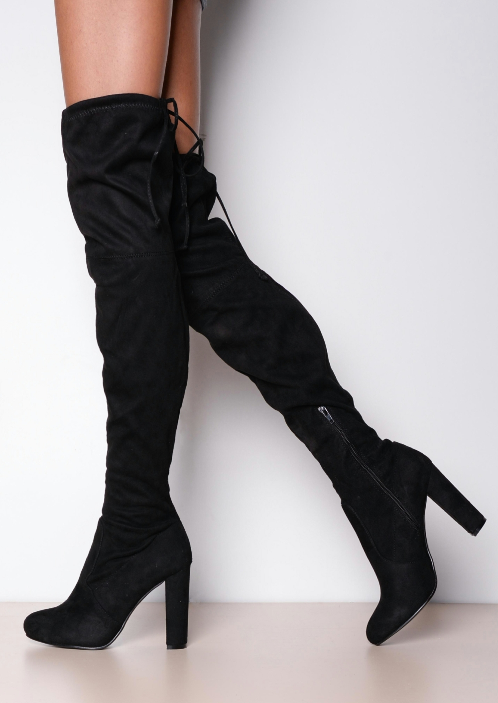 Thigh High Stiletto Boots 41PFigld