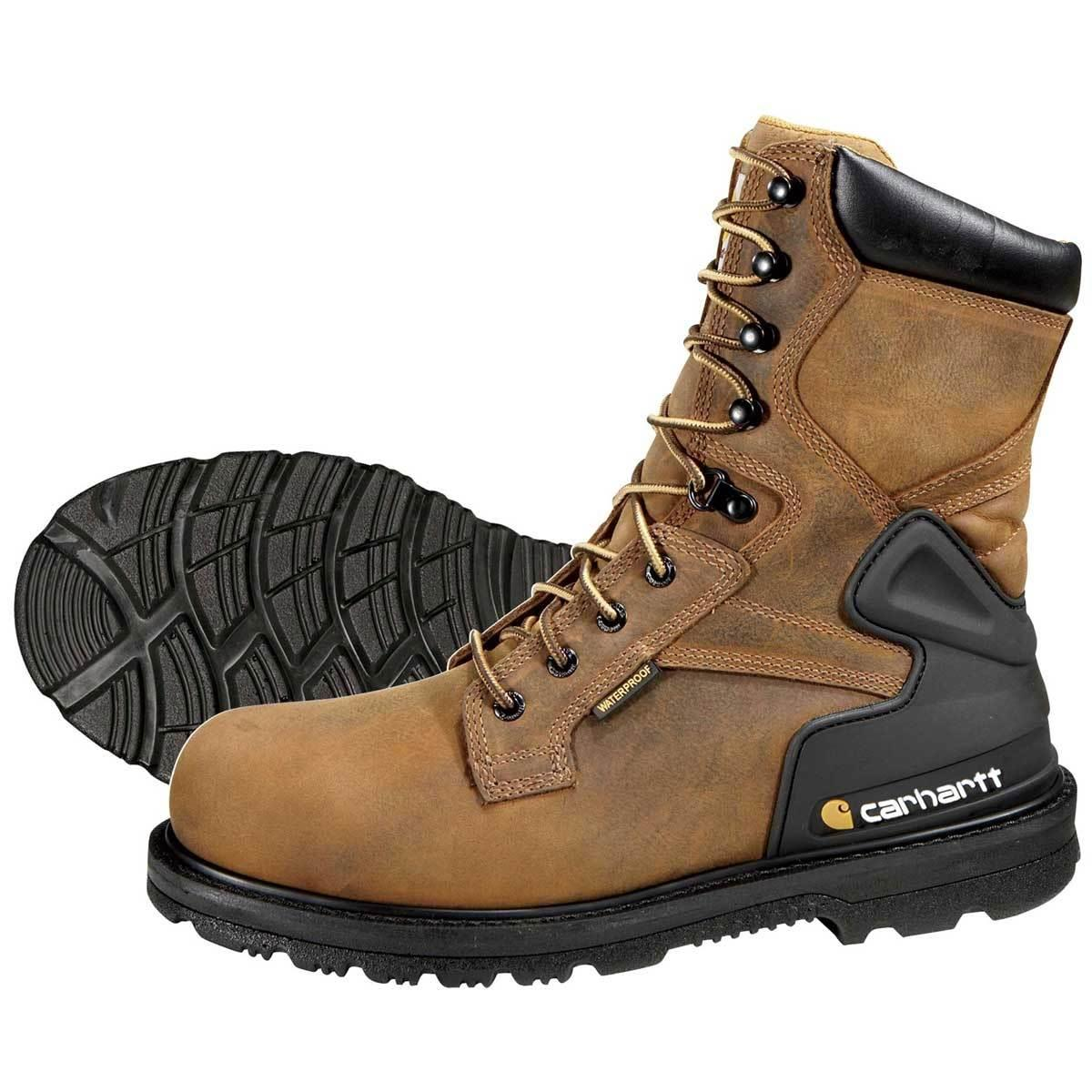 Waterproof Steel Toe Work Boots Q709iOuY