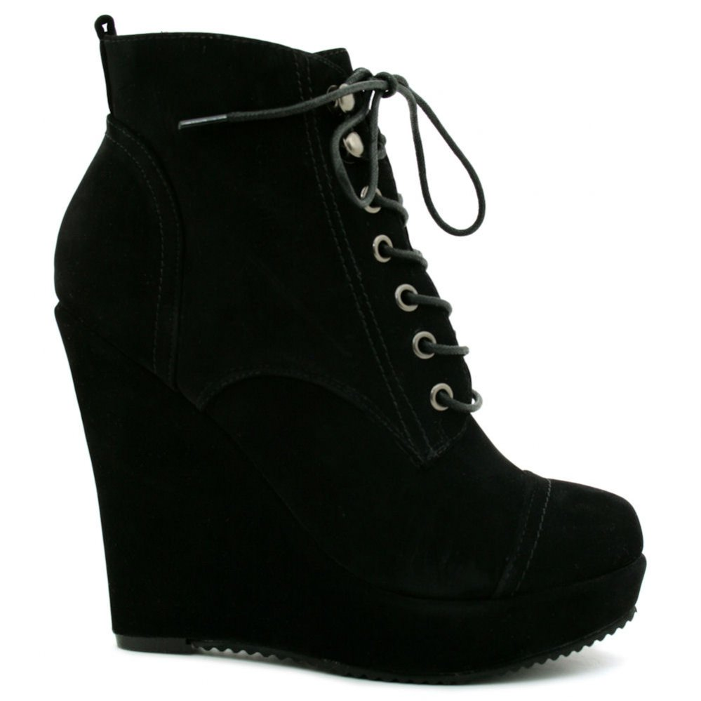 Wedge Heel Ankle Boots Lua65ZG4