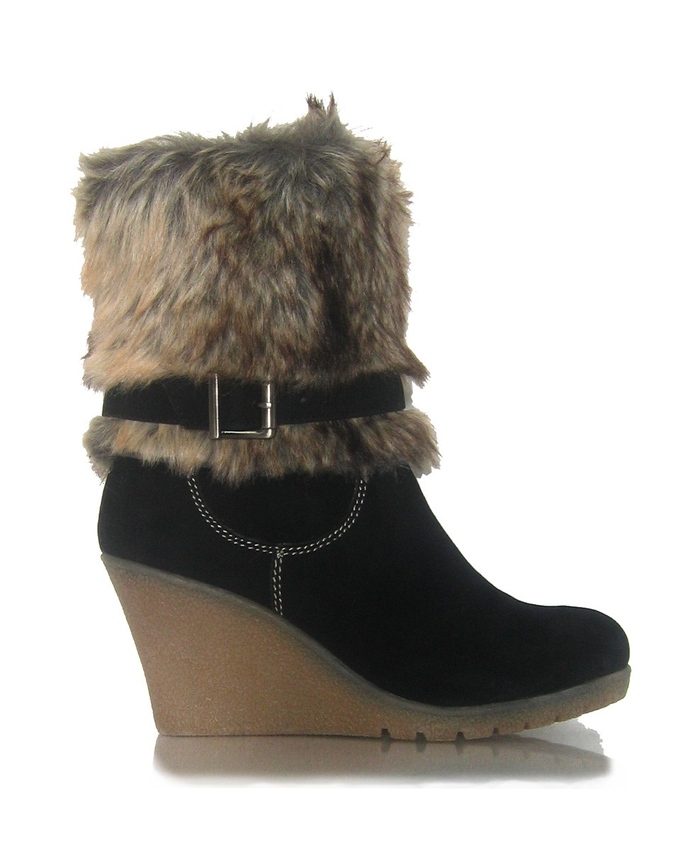 Wedge Heel Ankle Boots RWntZN4Q