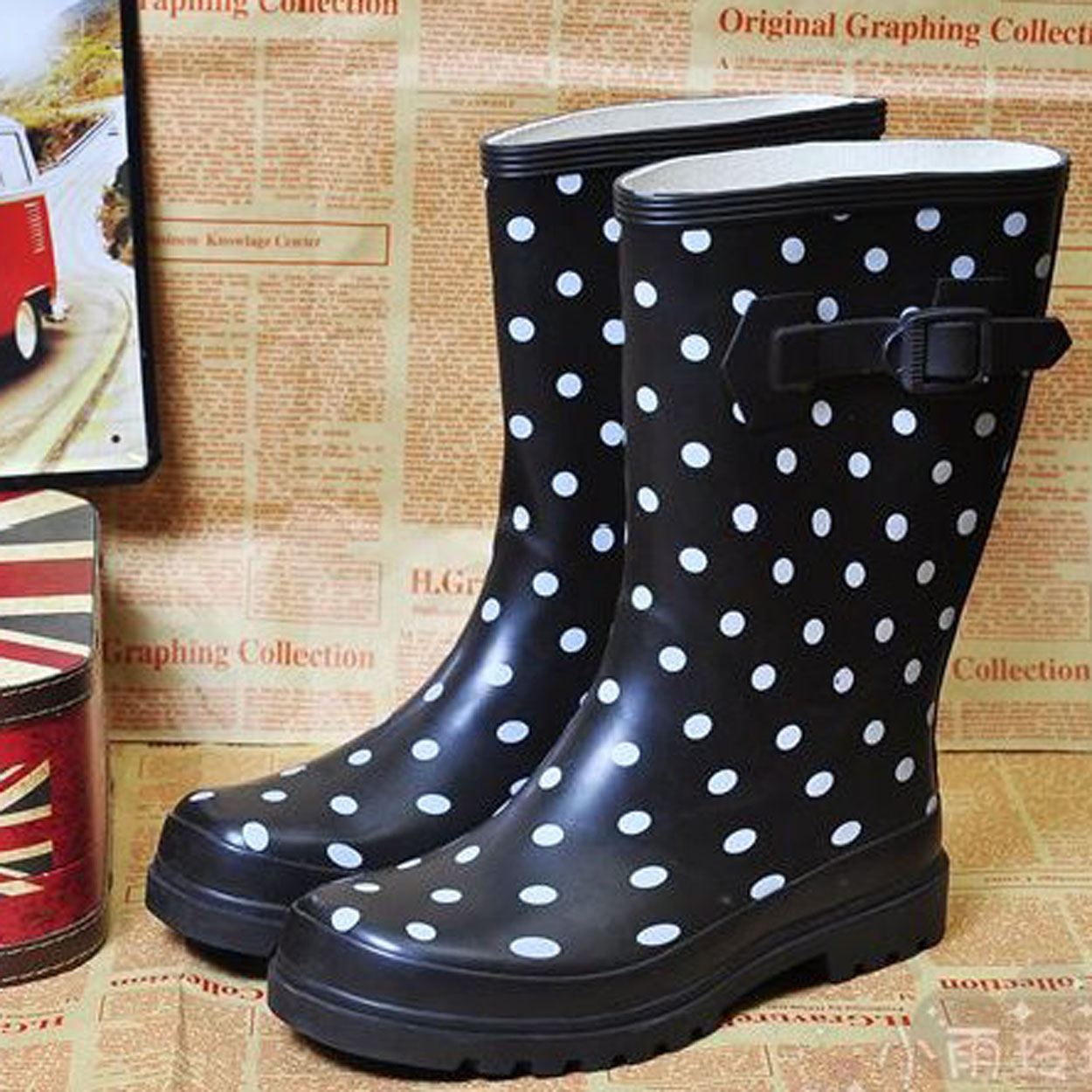 Wide Calf Rain Boots For Women 6kTi4dwx