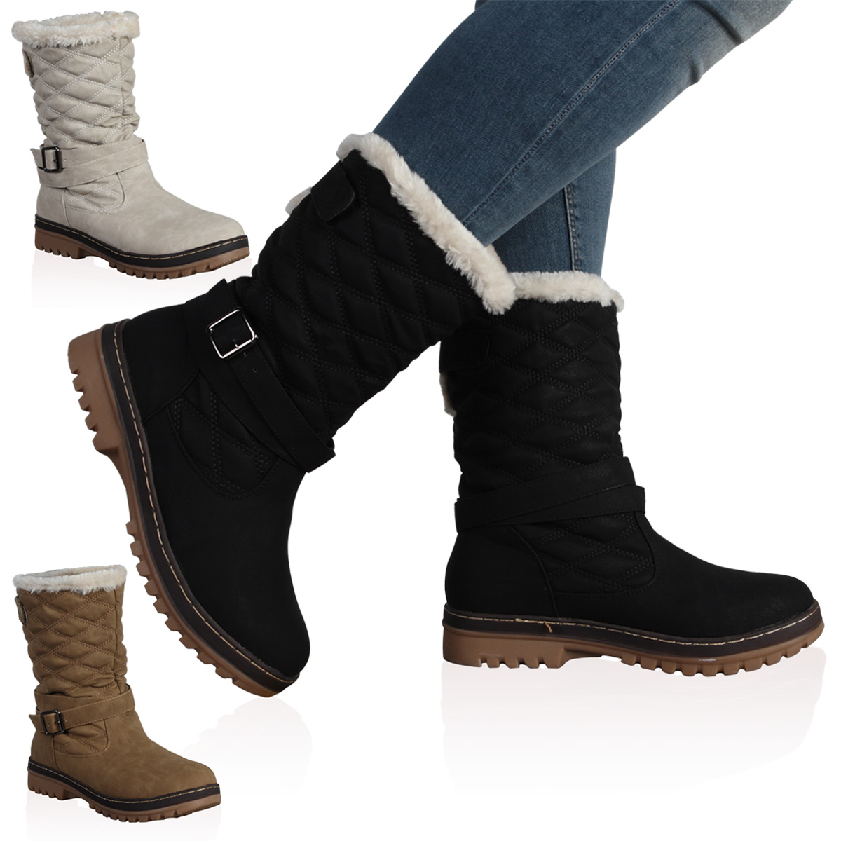 Winter Snow Boots Womens YPp4OlDA