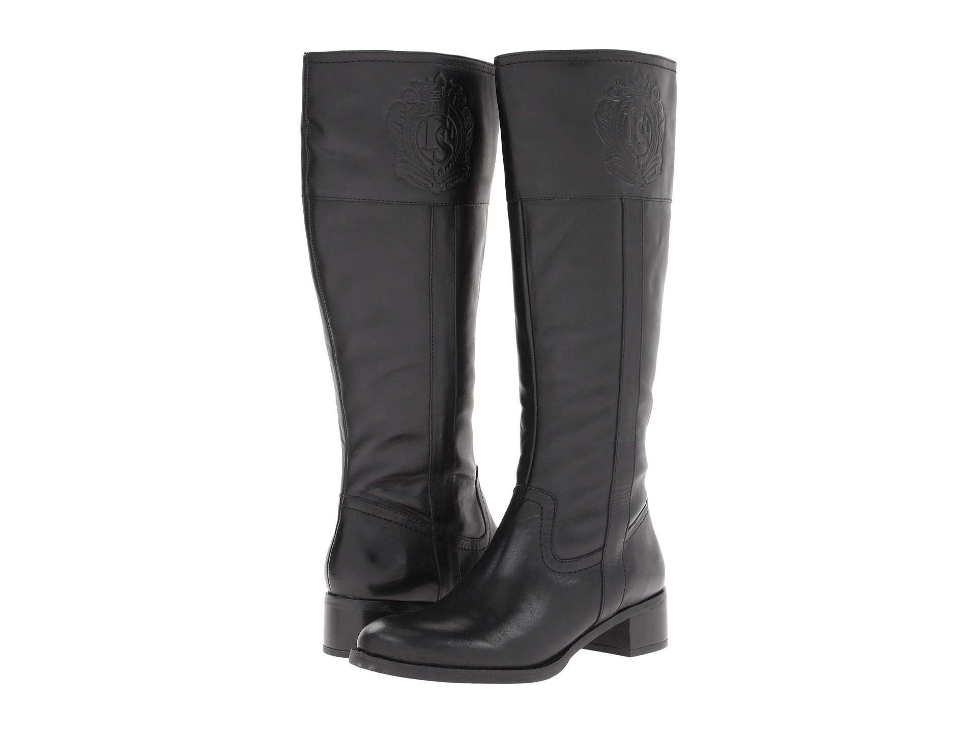 Womens Black Riding Boots PSPjuArz