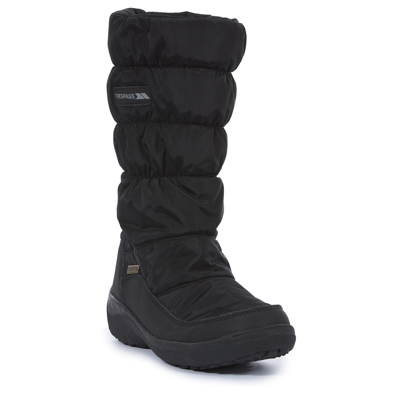 Womens Black Snow Boots BIe9L1cK