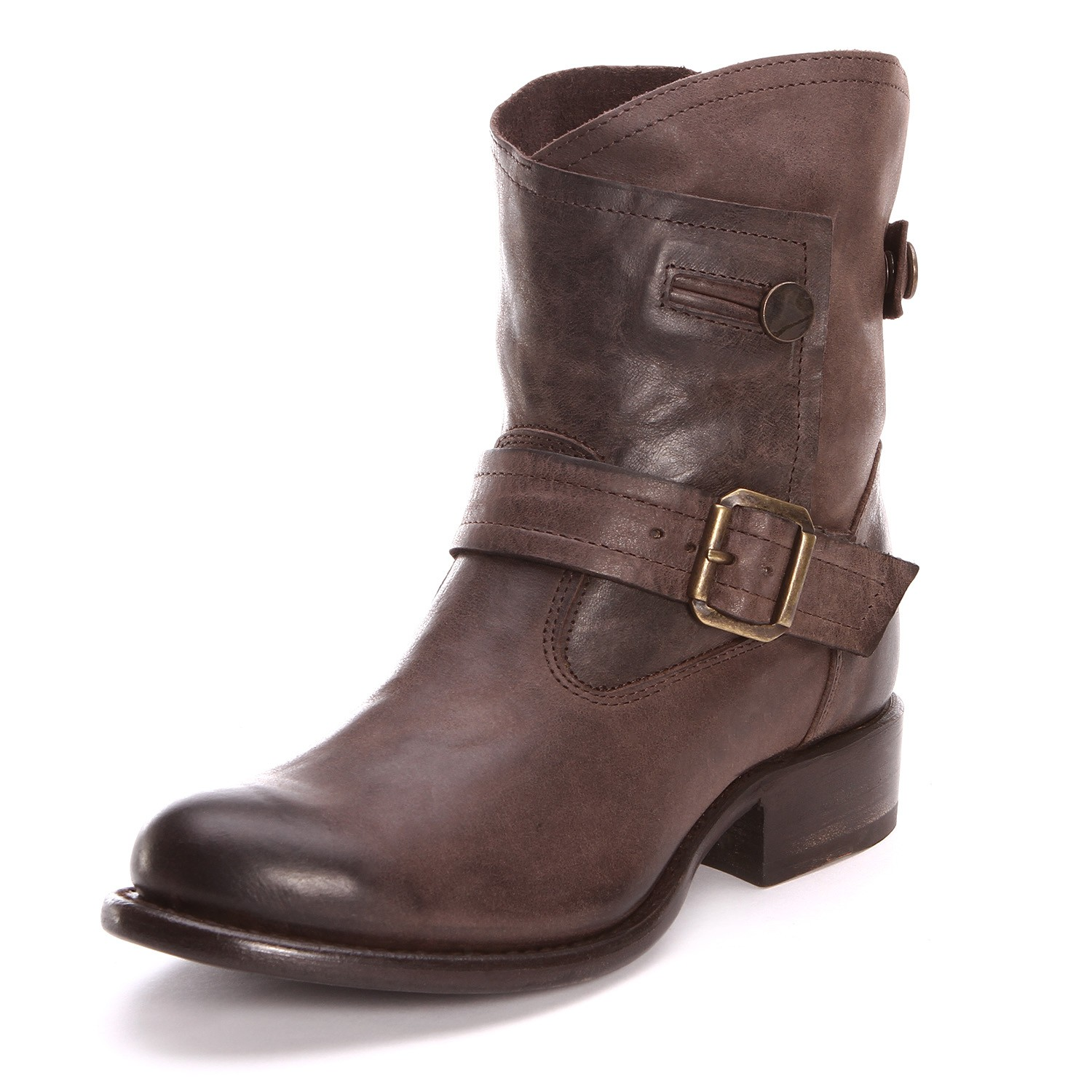 Womens Brown Ankle Boots 5OmiX7pu