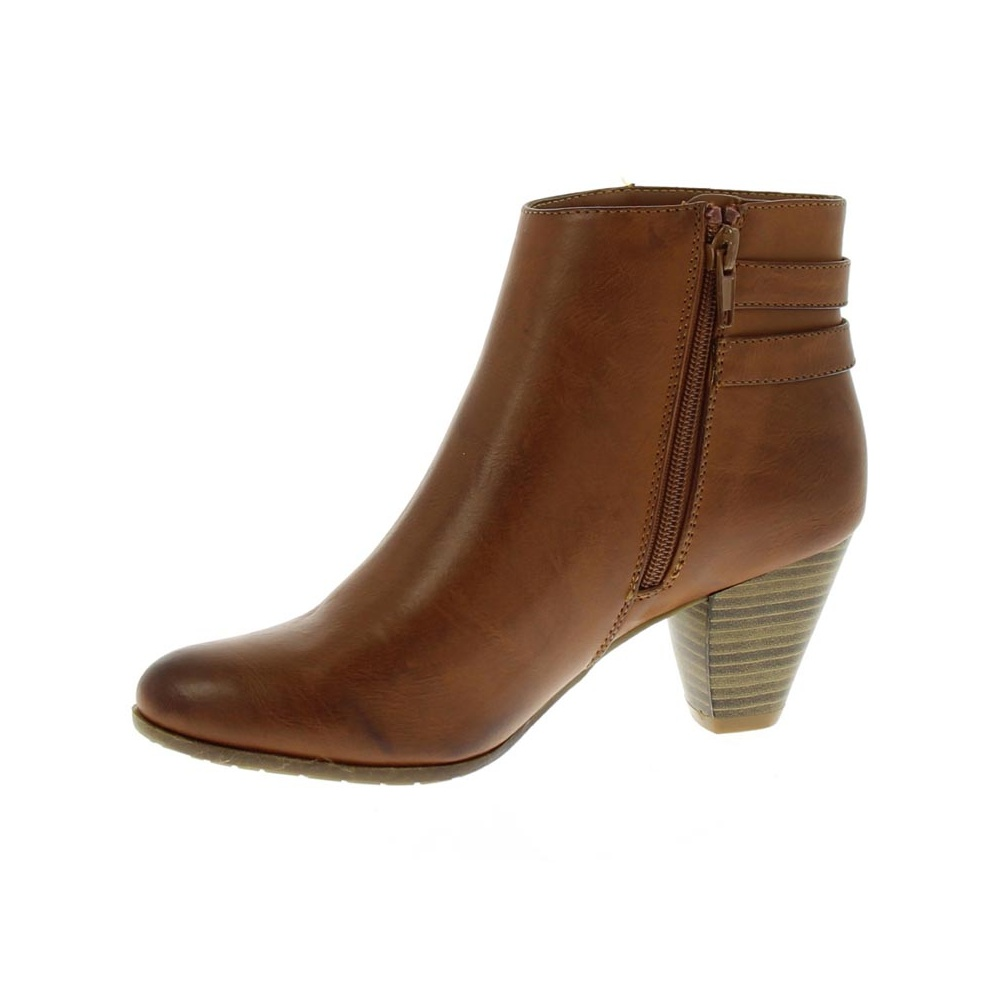 Womens Brown Ankle Boots A3KXAAdL