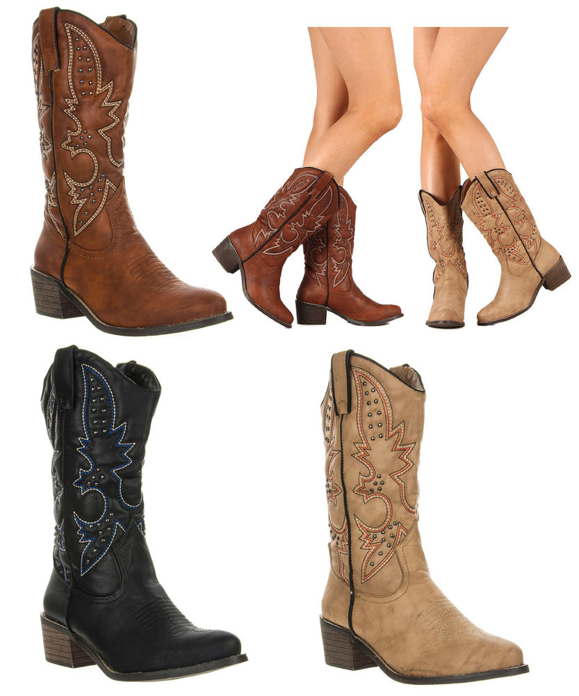 Womens Cheap Cowboy Boots pUJ1GUxG