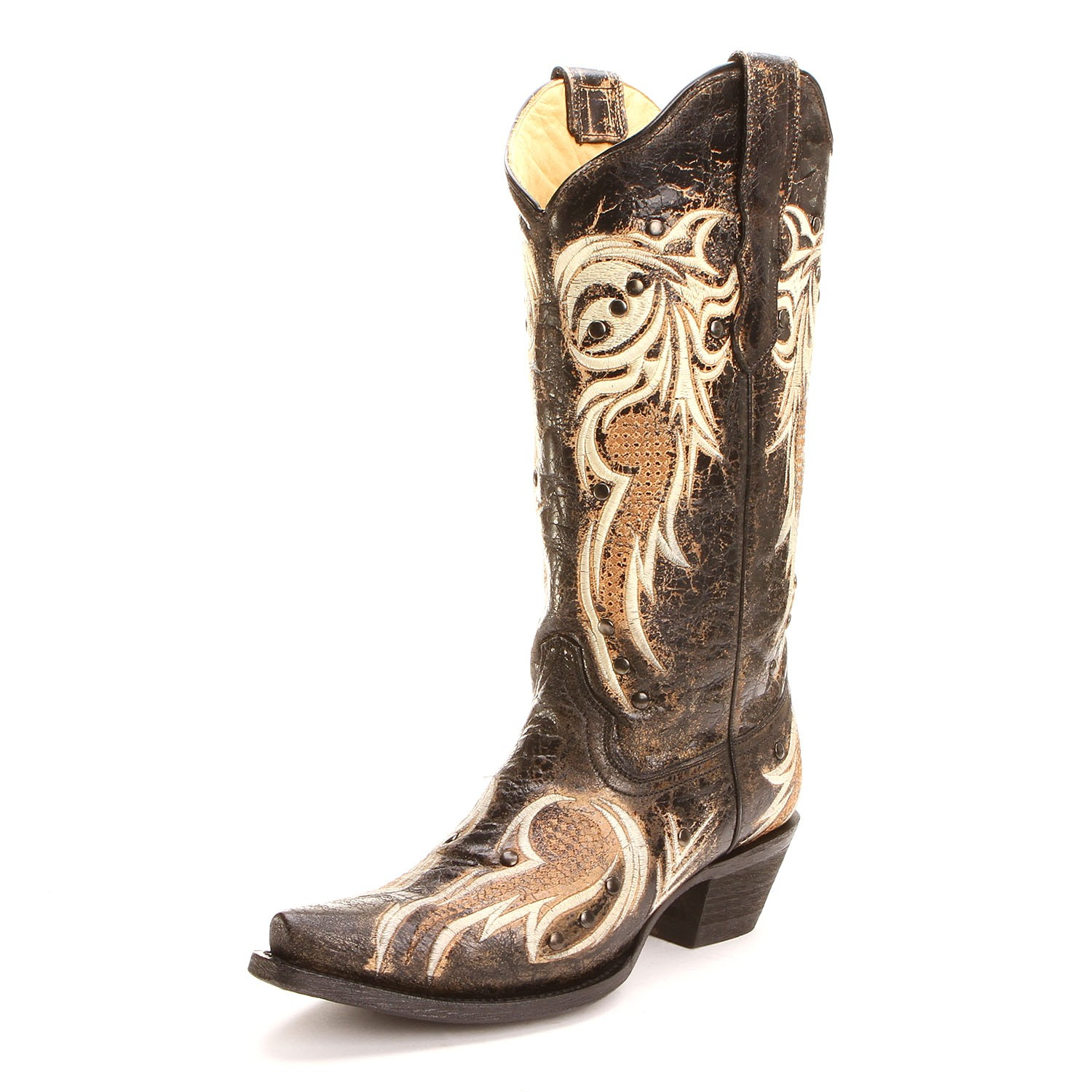 Womens Fashion Cowboy Boots F7CCQ4Mi