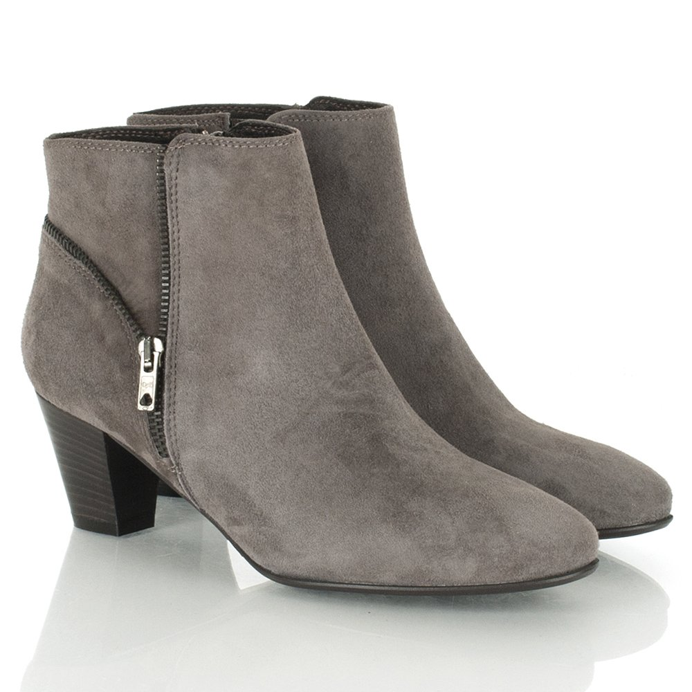 Womens Grey Ankle Boots pp06bp5r