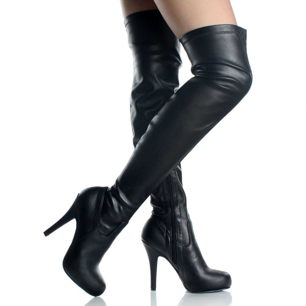Womens High Heel Boots SUQE0Plb