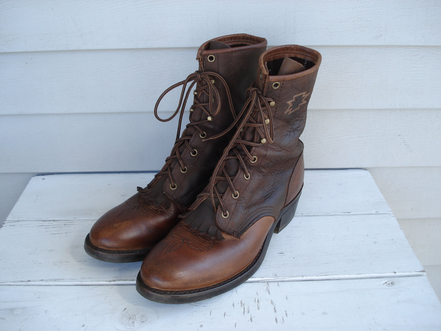 Womens Leather Lace Up Boots yMTZ7Fau