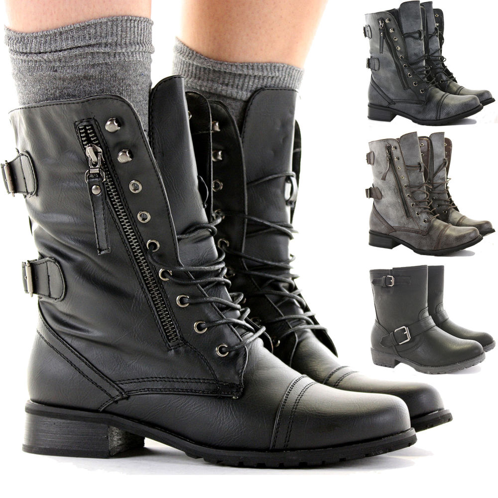 Womens Military Boots ihymH5yQ