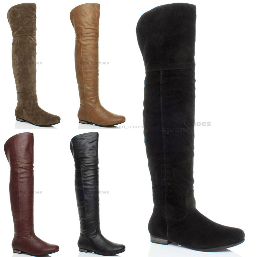 Womens Over The Knee Boots FHvmWa2T