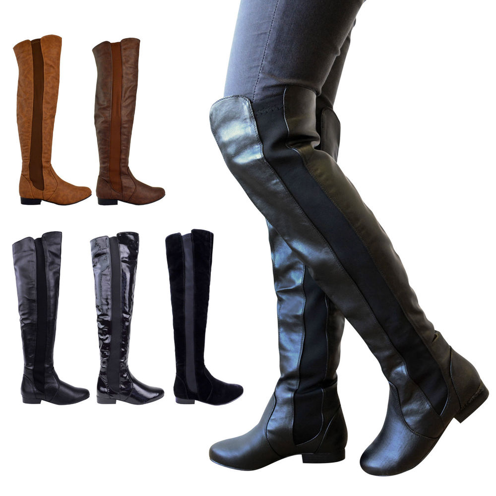 Womens Over The Knee Boots ddEUZ3vW