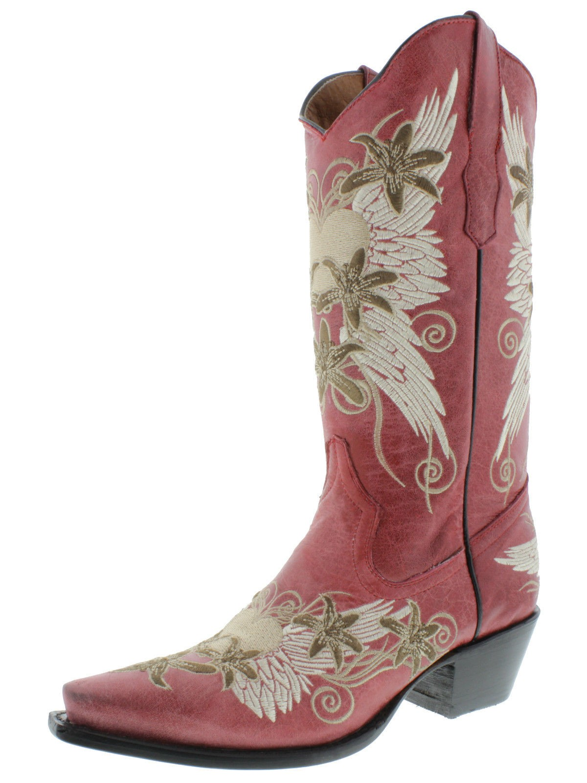 Womens Red Cowboy Boots wzBChb3I