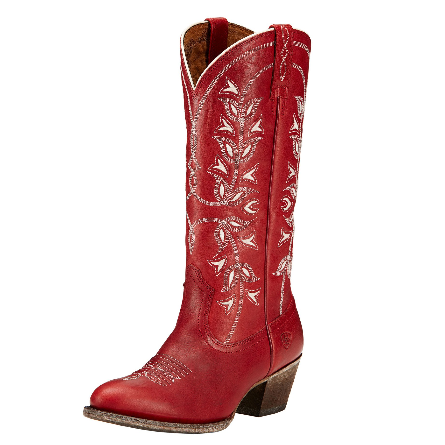 Womens Red Cowboy Boots JHf0h68c