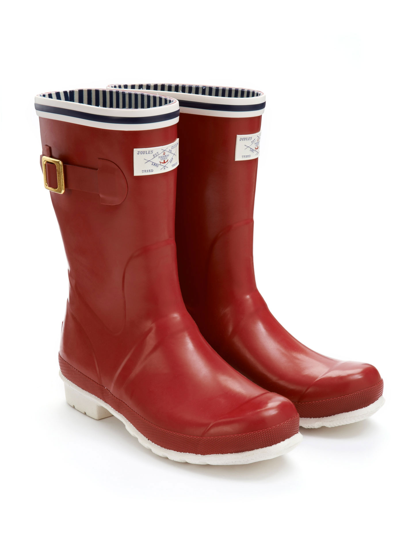 Womens Red Rain Boots tX3lY2y8
