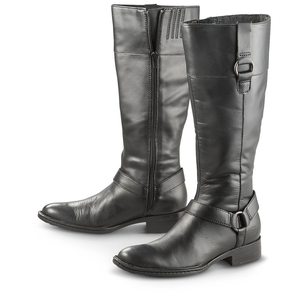 Womens Tall Black Boots QvadtBmt