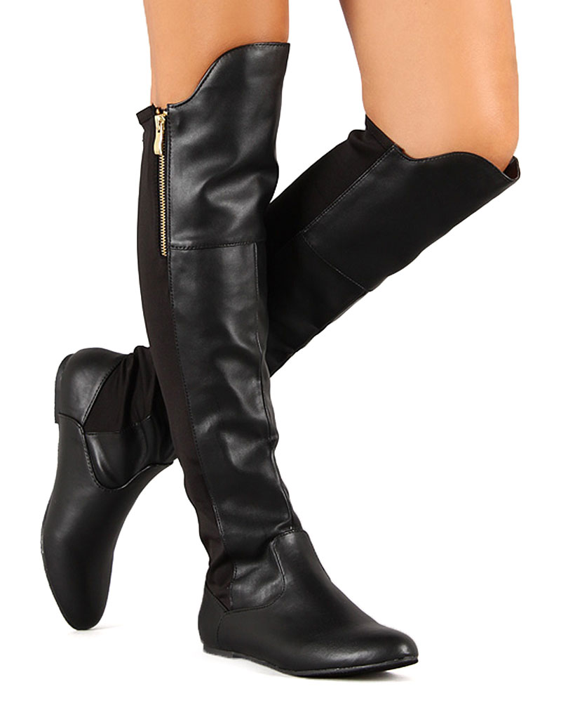 Womens Thigh High Boots ABitIfsI
