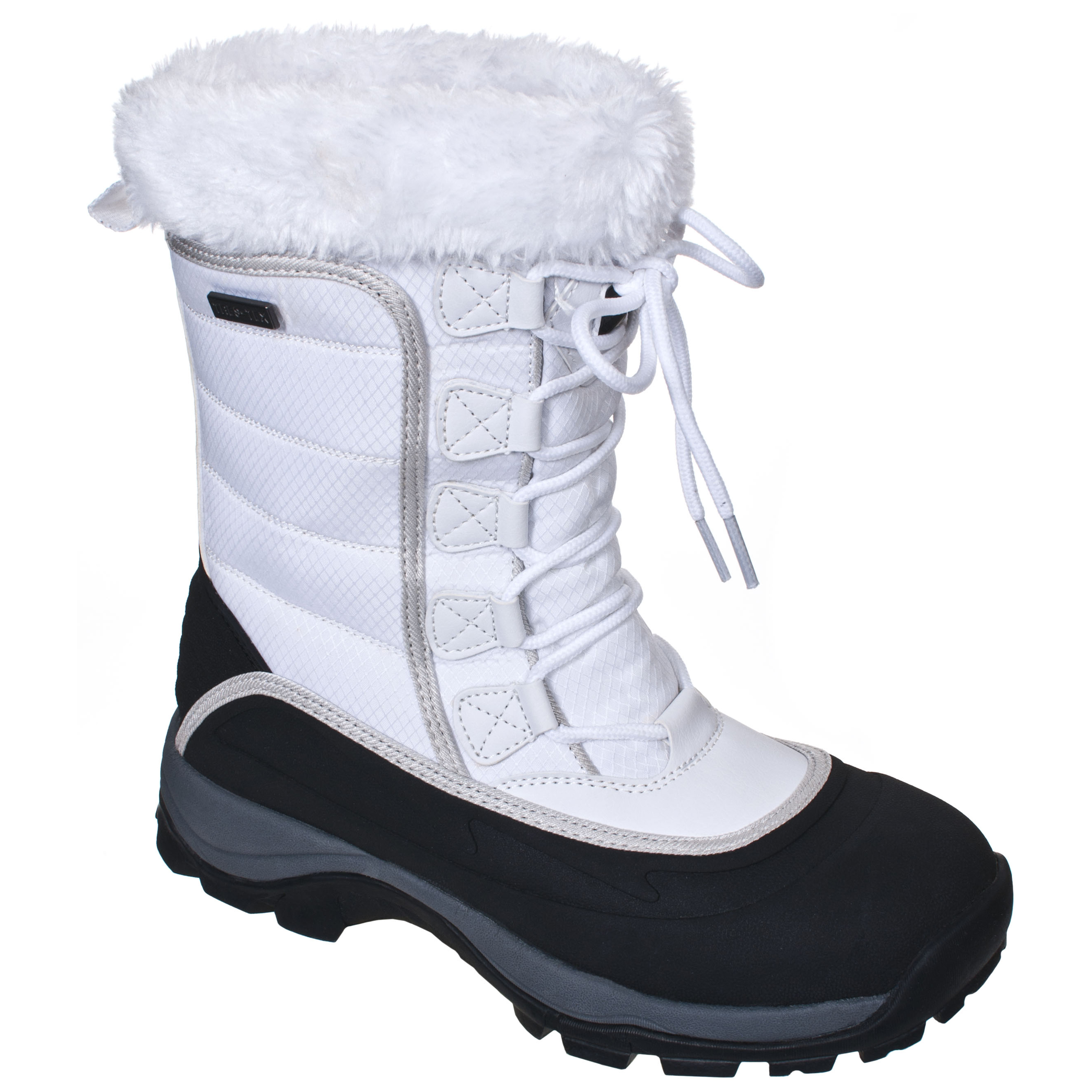 Womens White Snow Boots ahbjkR2C