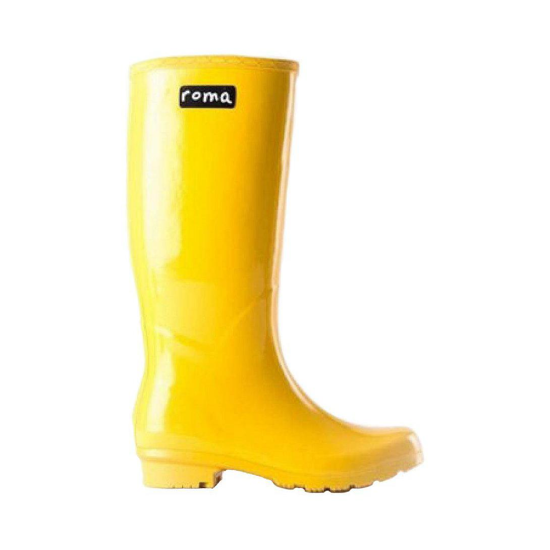 Womens Yellow Rain Boots S7Uhlc27