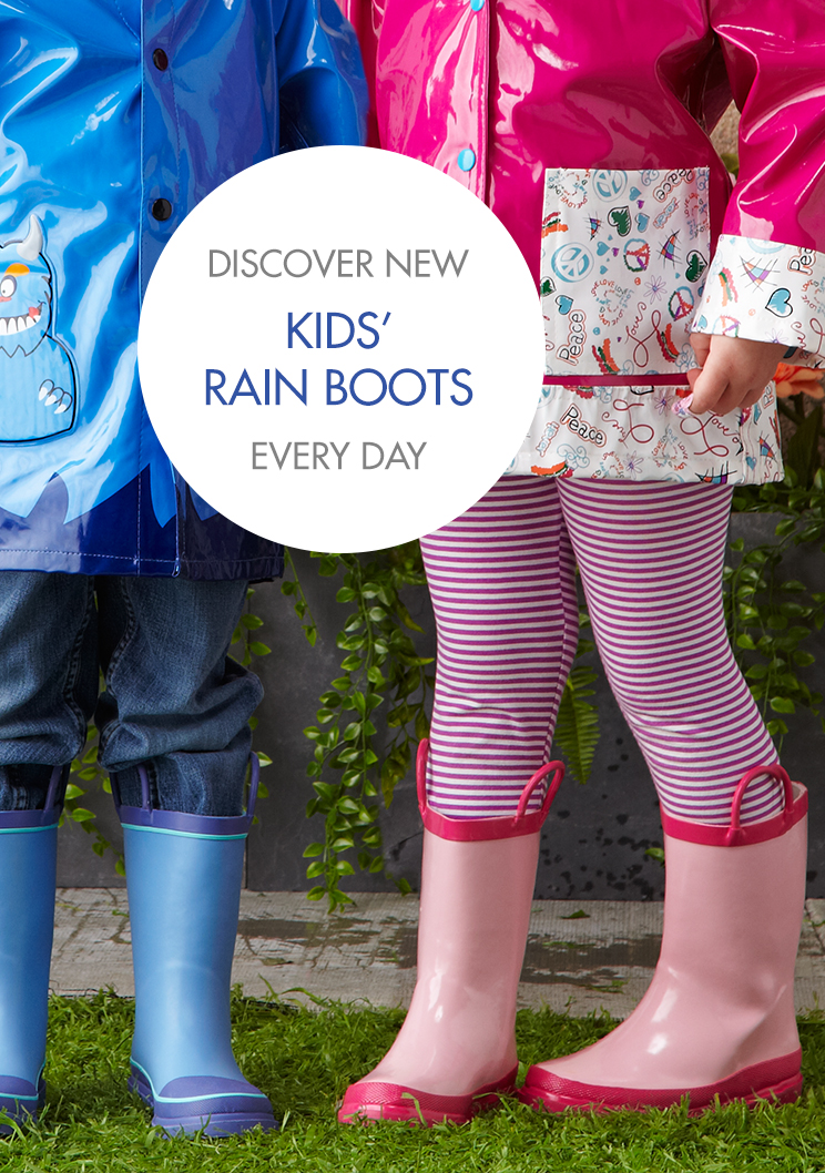 Youth Rain Boots CLt7UotF