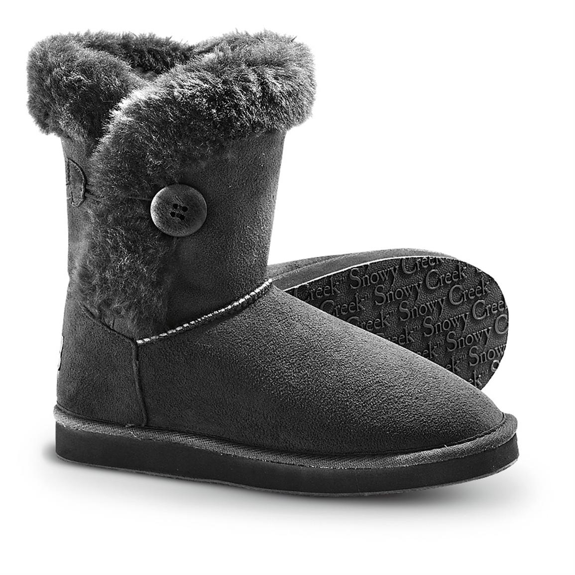 Black Winter Boots For Women cNKsCWR2