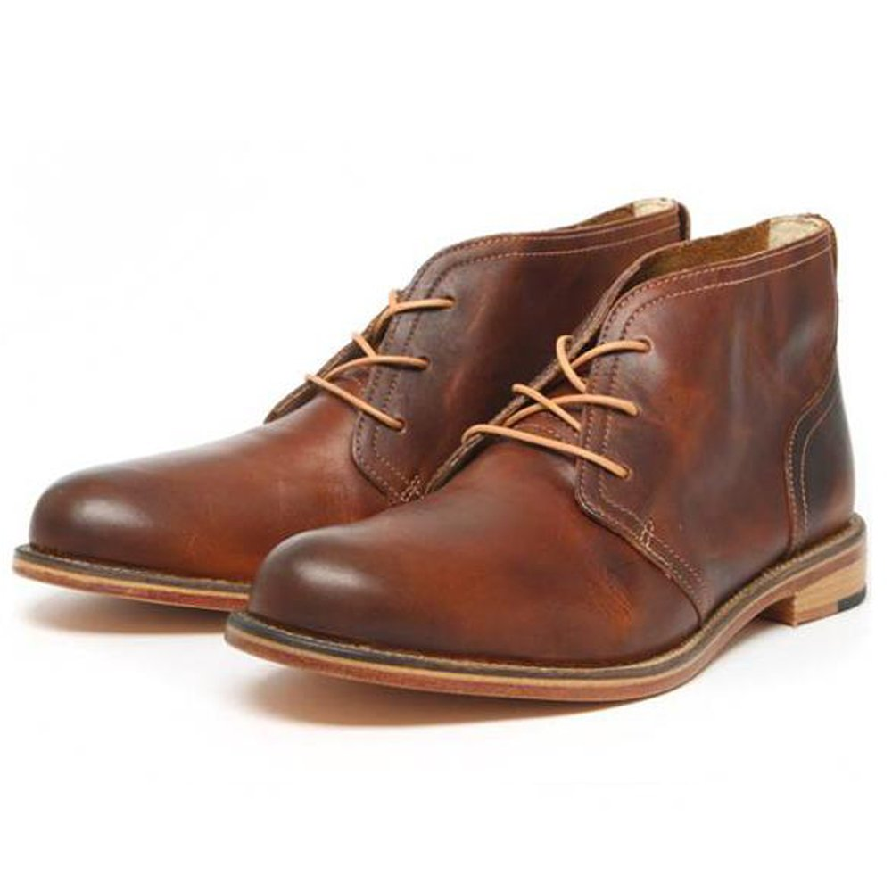 Brown Leather Mens Boots HAQewgvv