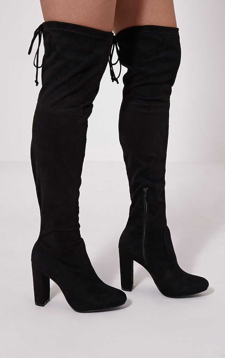 Cheap Thigh High Black Boots cjZmDiUU