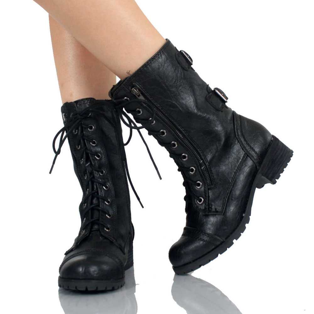 Cheap Womens Combat Boots T5xVPXJb