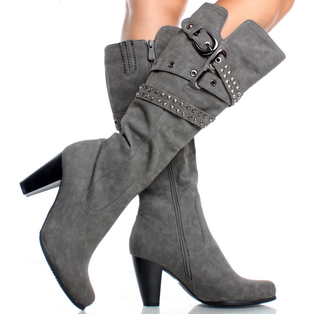 buy \u003e gray boots women, Up to 60% OFF