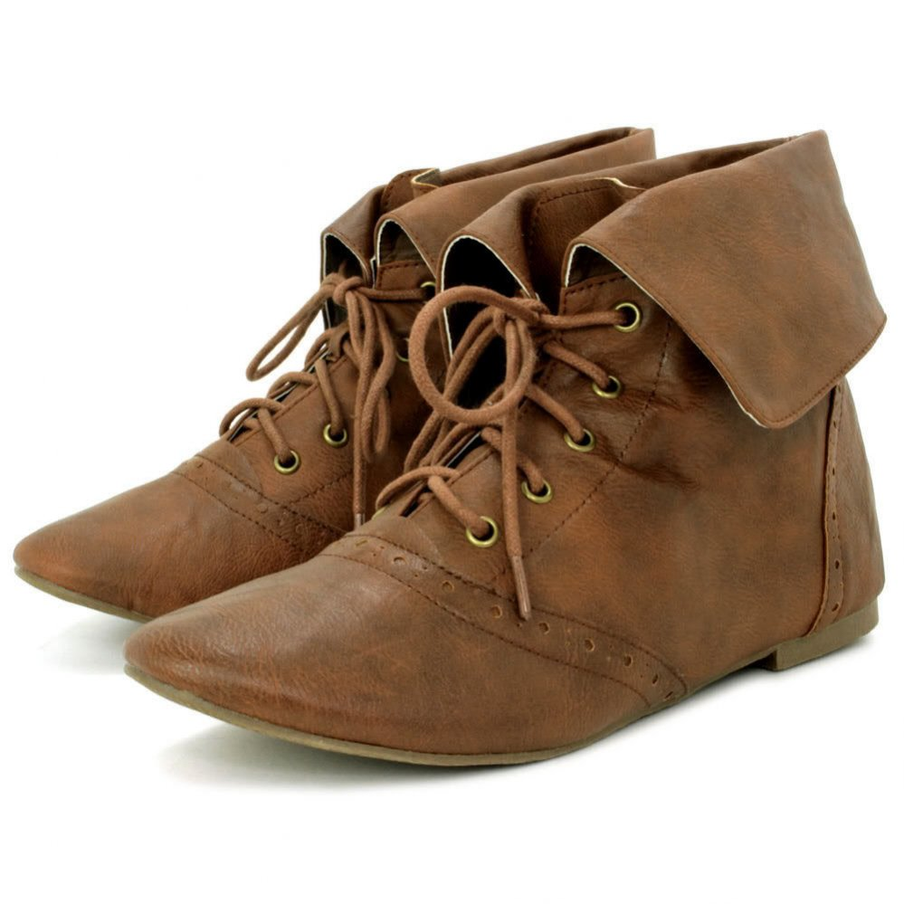 lace up ankle boots for women boot yc