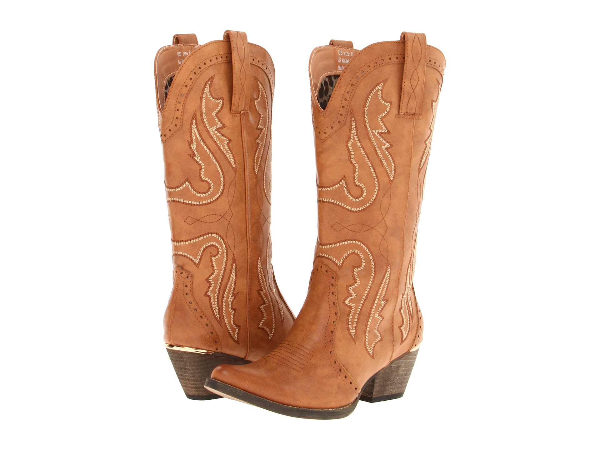 Light Brown Cowgirl Boots XQVOpTB2