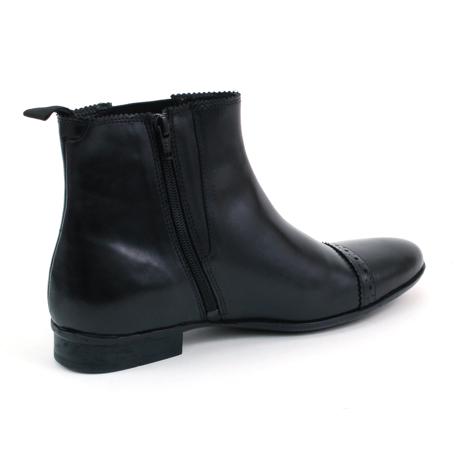 Mens Boots With Zipper