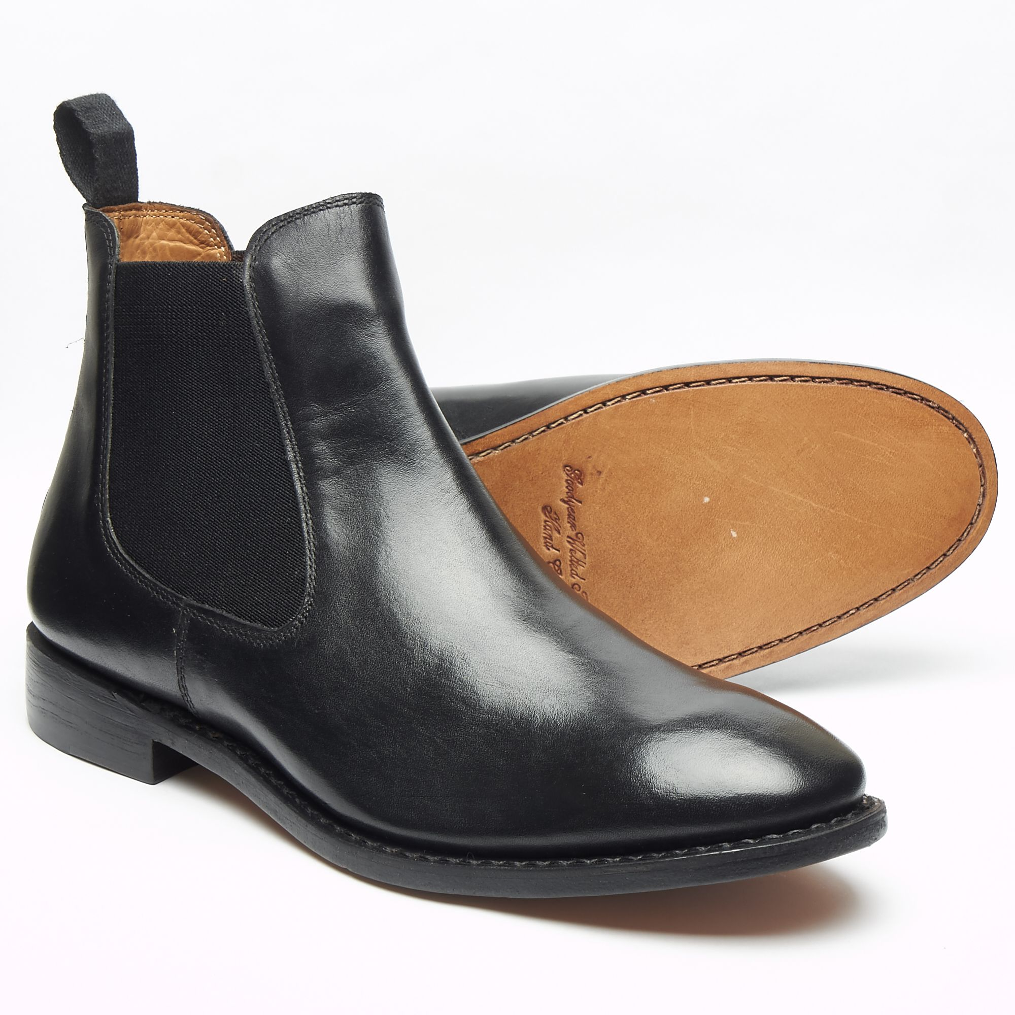 Mens Leather Chelsea Boots WeAp6qR5