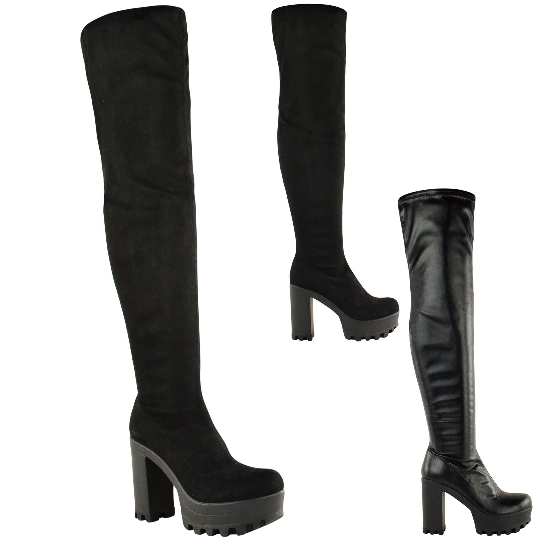 Over The Knee Thigh High Boots y5BrYAdd