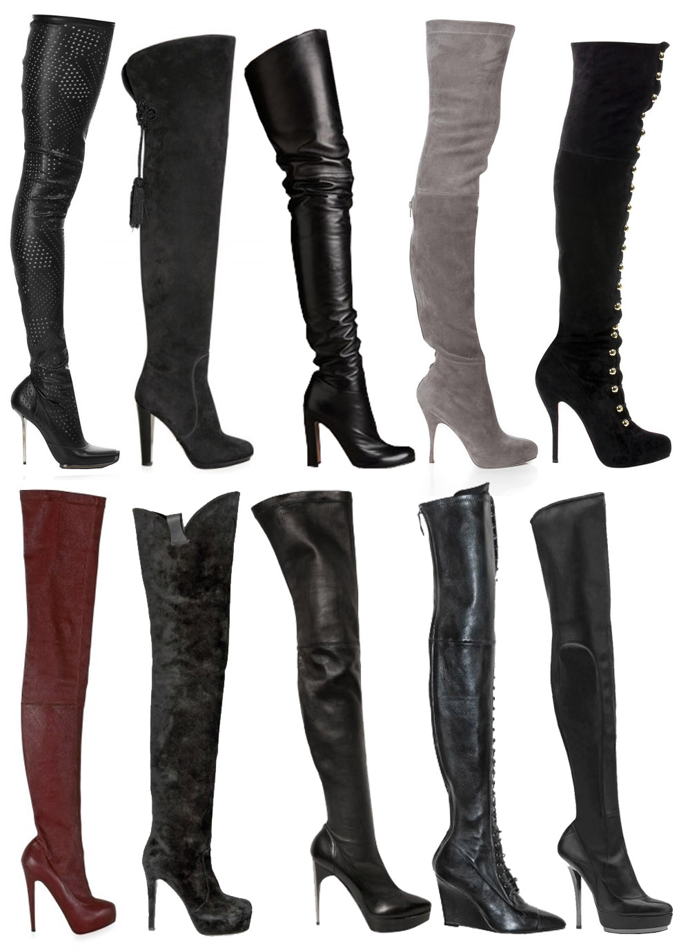 Over The Knee Thigh High Boots PjMXCW0R