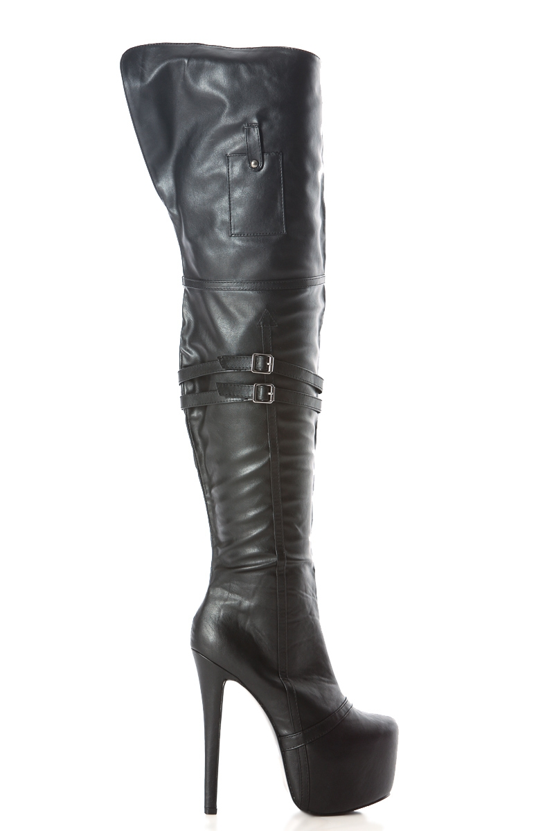 Platform Thigh High Boots ptPLgm7U