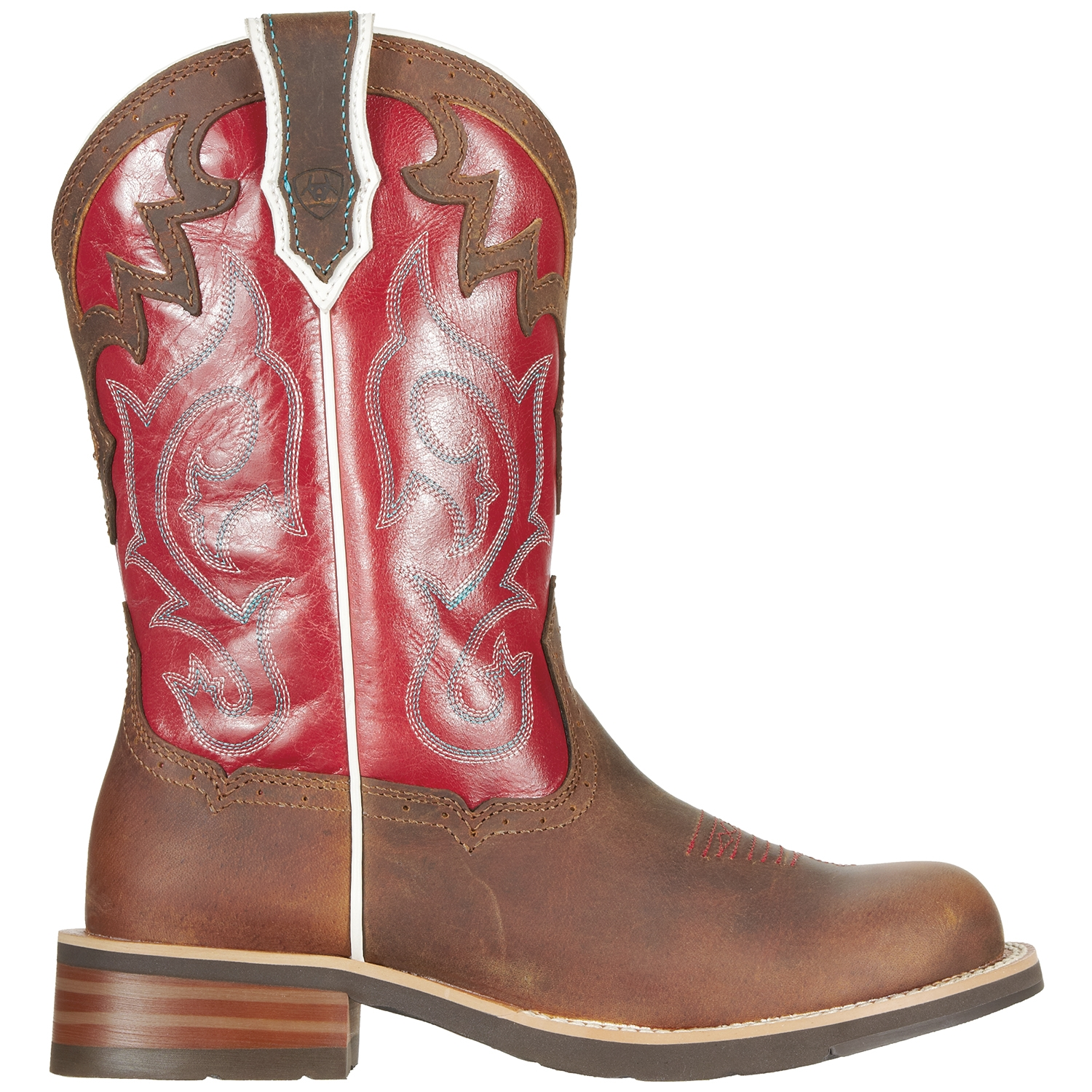 Red Ariat Boots - Boot Yc