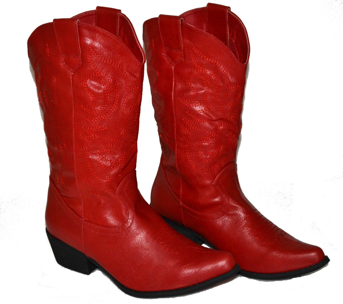 Red Cowgirl Boots Cheap - Boot Yc
