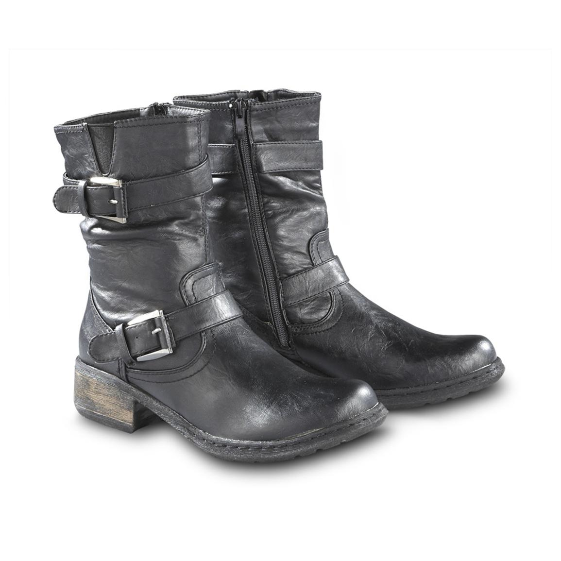 Short Black Boots For Women chohc1q9