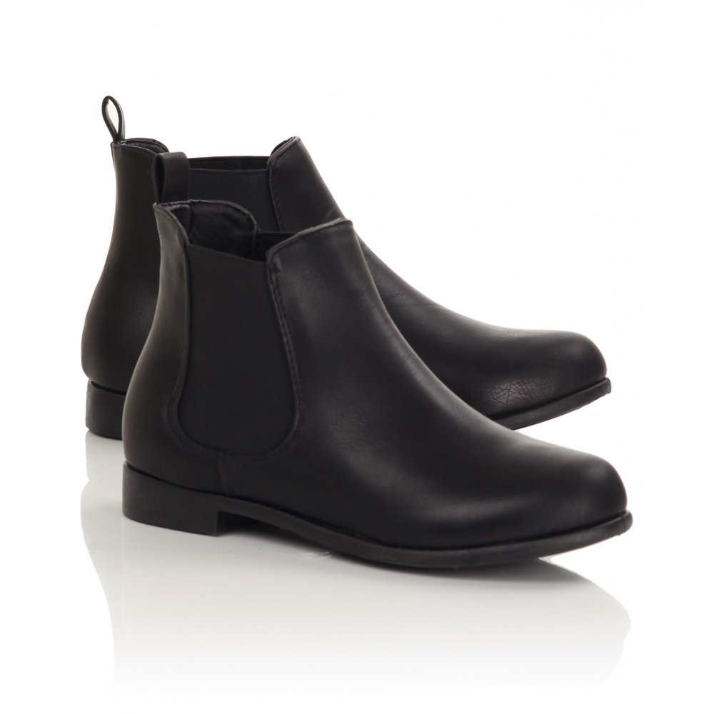 black boots for women ankle