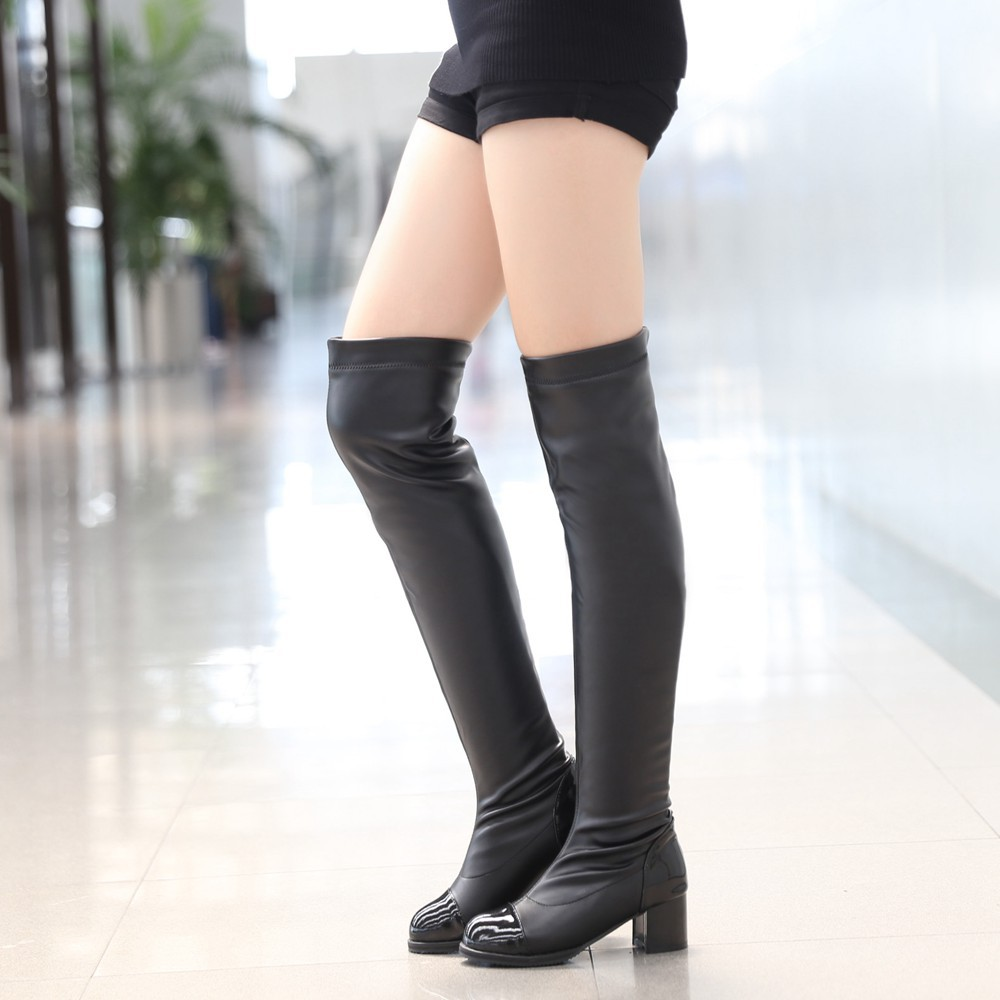 Size 12 Thigh High Boots - Boot Yc