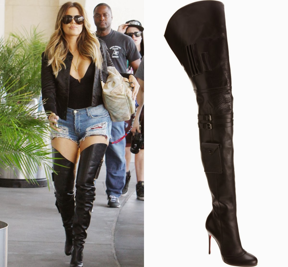 Thigh High Leather Boots For Women