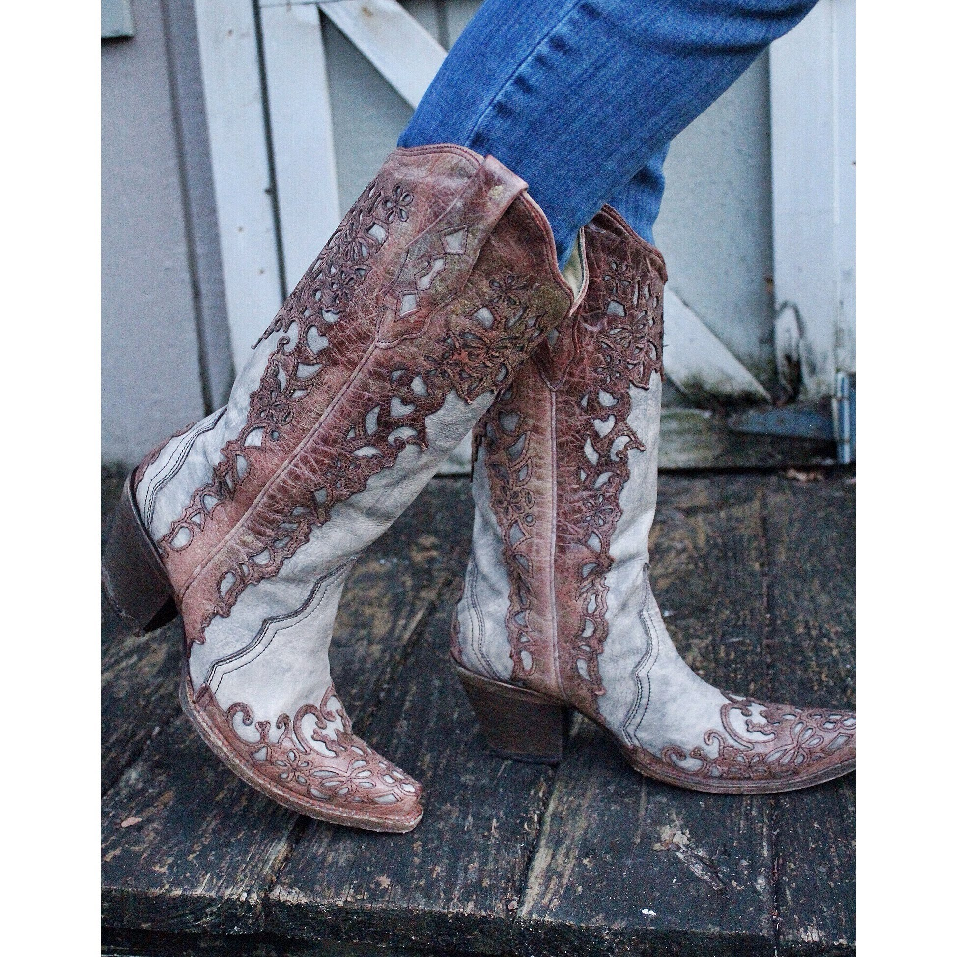Vintage Cowgirl Boots YKFIBOuk